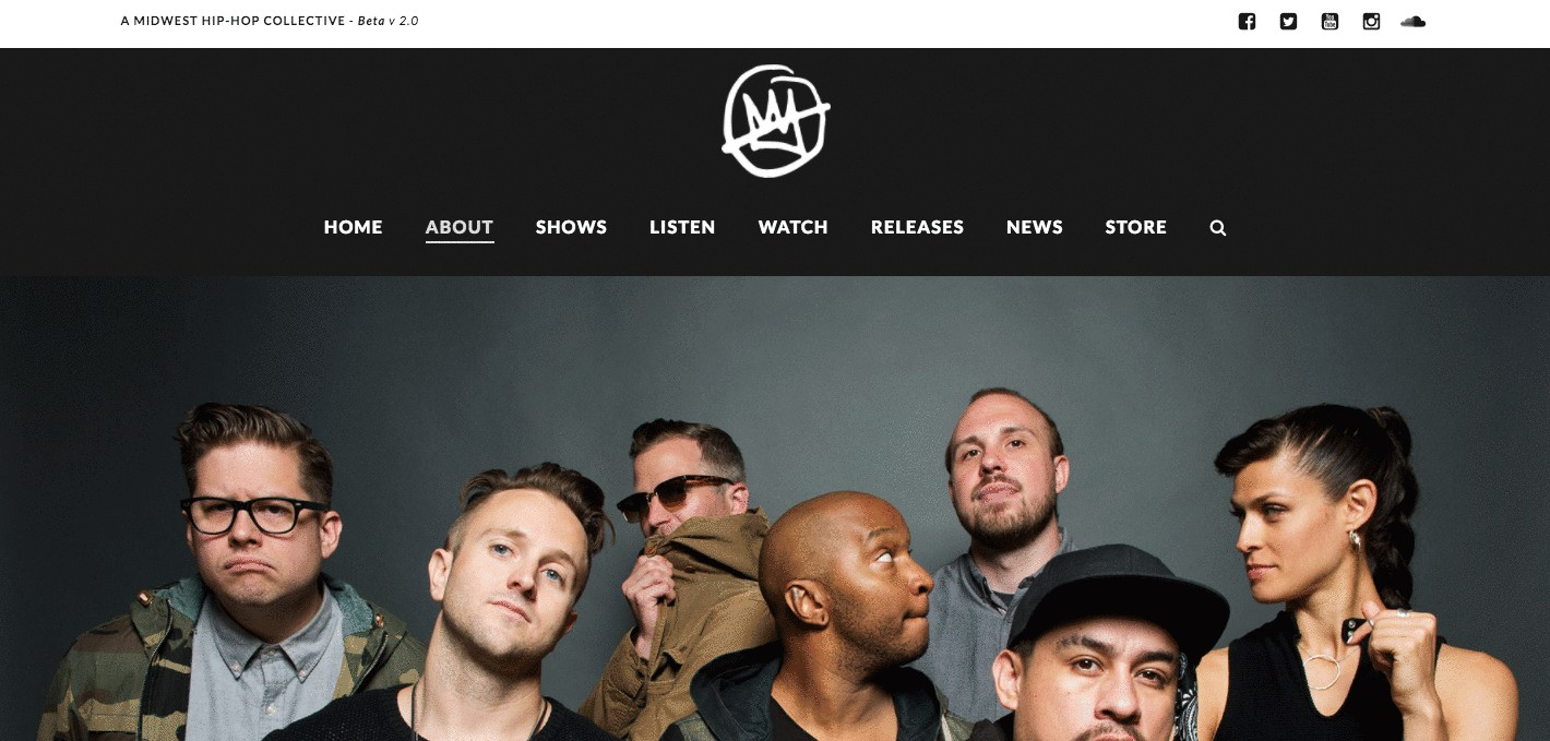 Doomtree band about us page