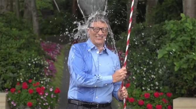 Ice bucket challenge screenshot
