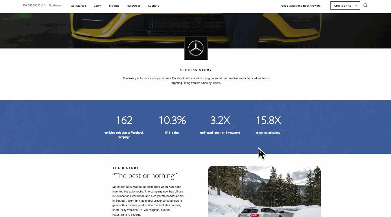 Facebook-Mercedes-Benz-Case-Study