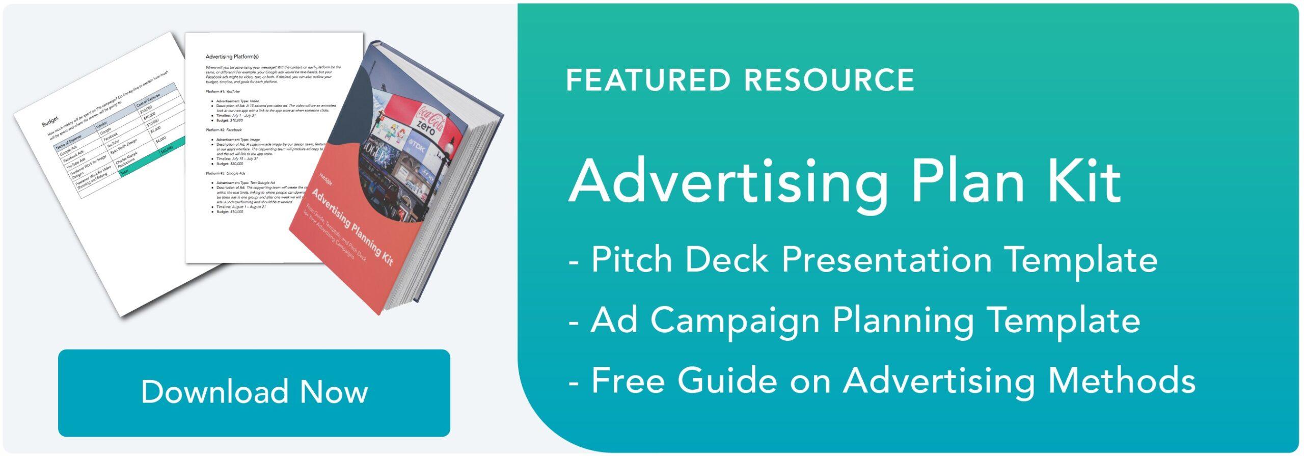 advertising plan