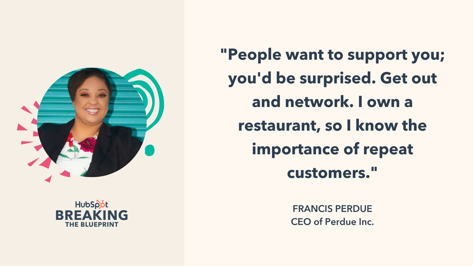 Email marketing strategy from CEO Francis Perdue