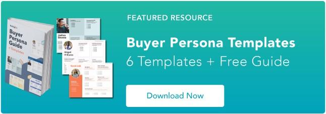 Blog - Buyer Persona Template [Updated]
