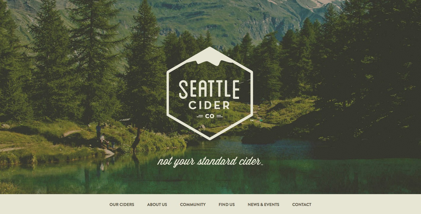 Seattle Cider product page