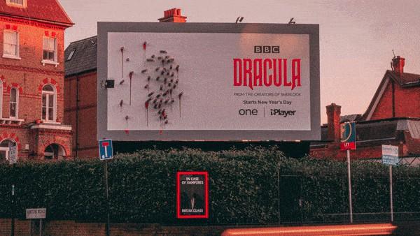 Guerilla Marketing Example: BBC's Dracula