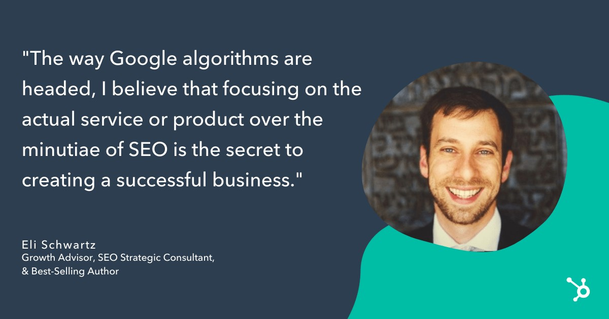 eli schwartz google algorithm quote-min