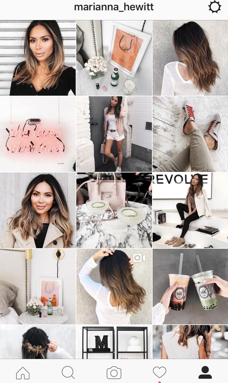 Same Filter Instagram Theme Example