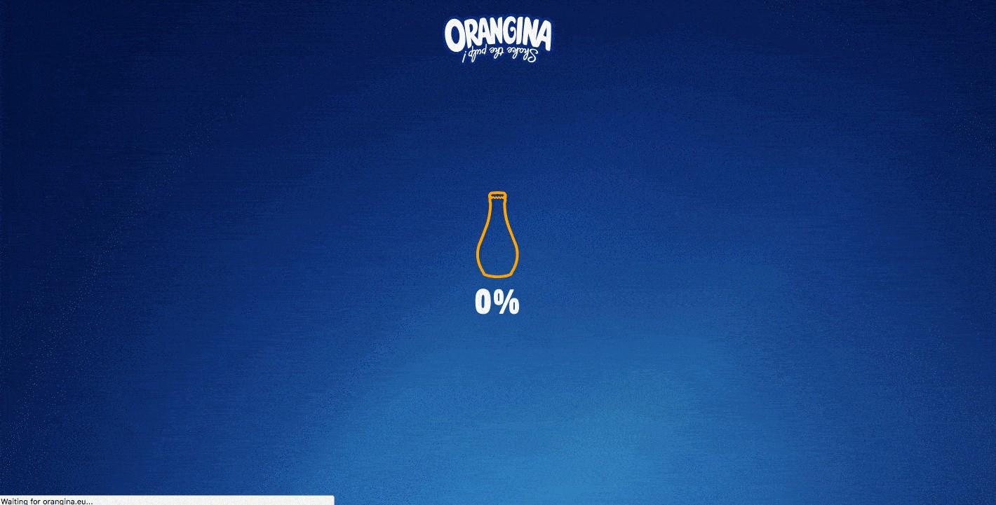 orangina product page design