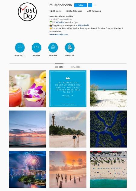 One Subject Instagram Theme Example