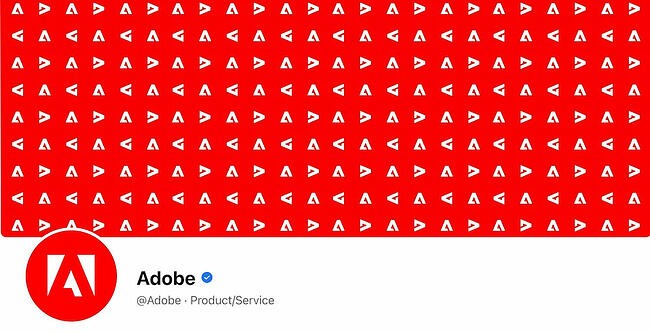 Facebook Page cover from Adobe's FB Page