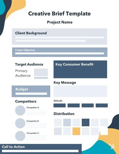 basic Creative Brief Template Example