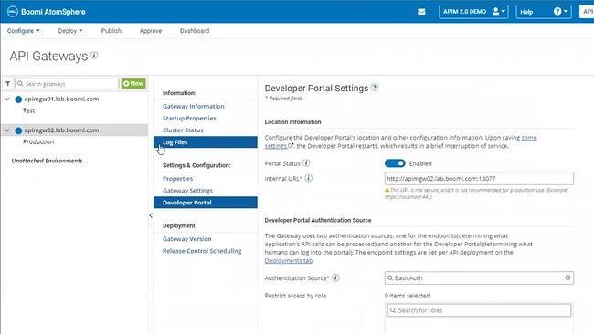 Cloud integration platform: Dell Boomi