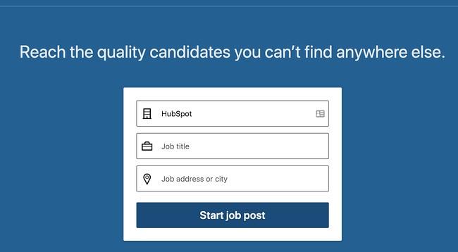 linkedin jobs homepage